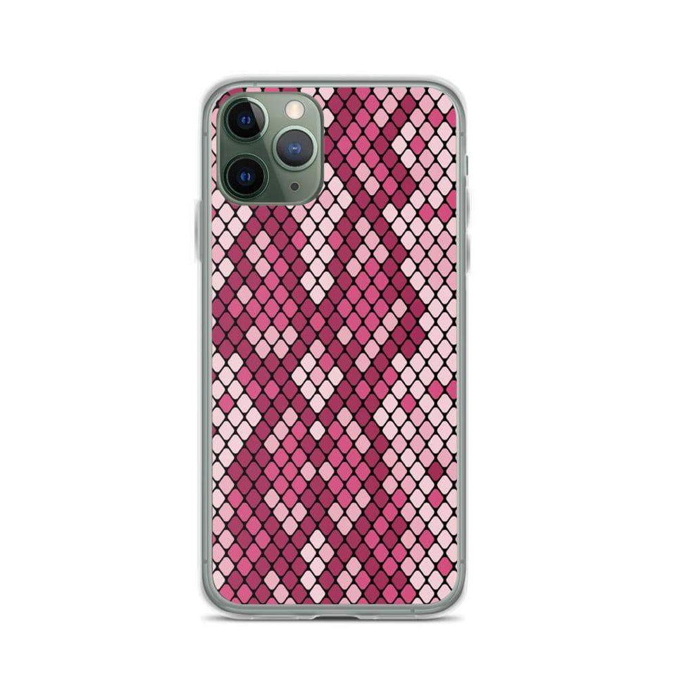 PremeTech iPhone 11 Pro Pink Snakeskin iPhone Case