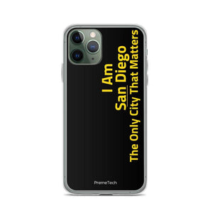 PremeTech iPhone 11 Pro San Diego iPhone Case
