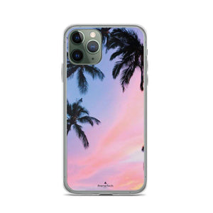 PremeTech iPhone 11 Pro Sunset & Palm Trees iPhone Case