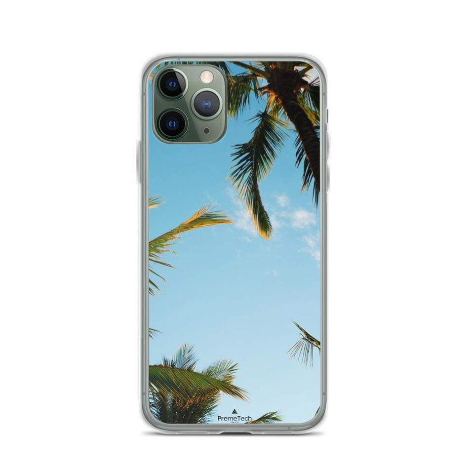 PremeTech iPhone 11 Pro Sunshine and Palm Trees iPhone Case