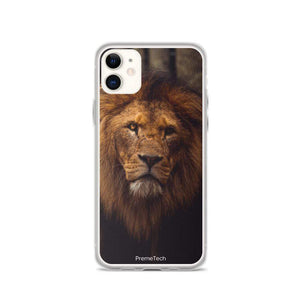 PremeTech iPhone 11 Regal Lion iPhone Case