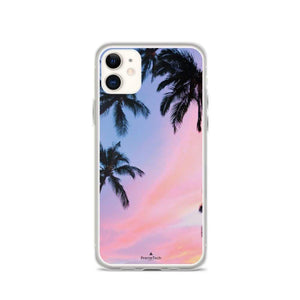 PremeTech iPhone 11 Sunset & Palm Trees iPhone Case