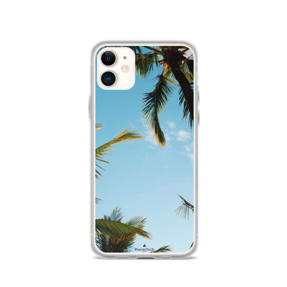 PremeTech iPhone 11 Sunshine and Palm Trees iPhone Case