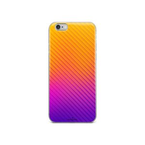 PremeTech iPhone 6/6s Abstract Orange to Purple iPhone Case
