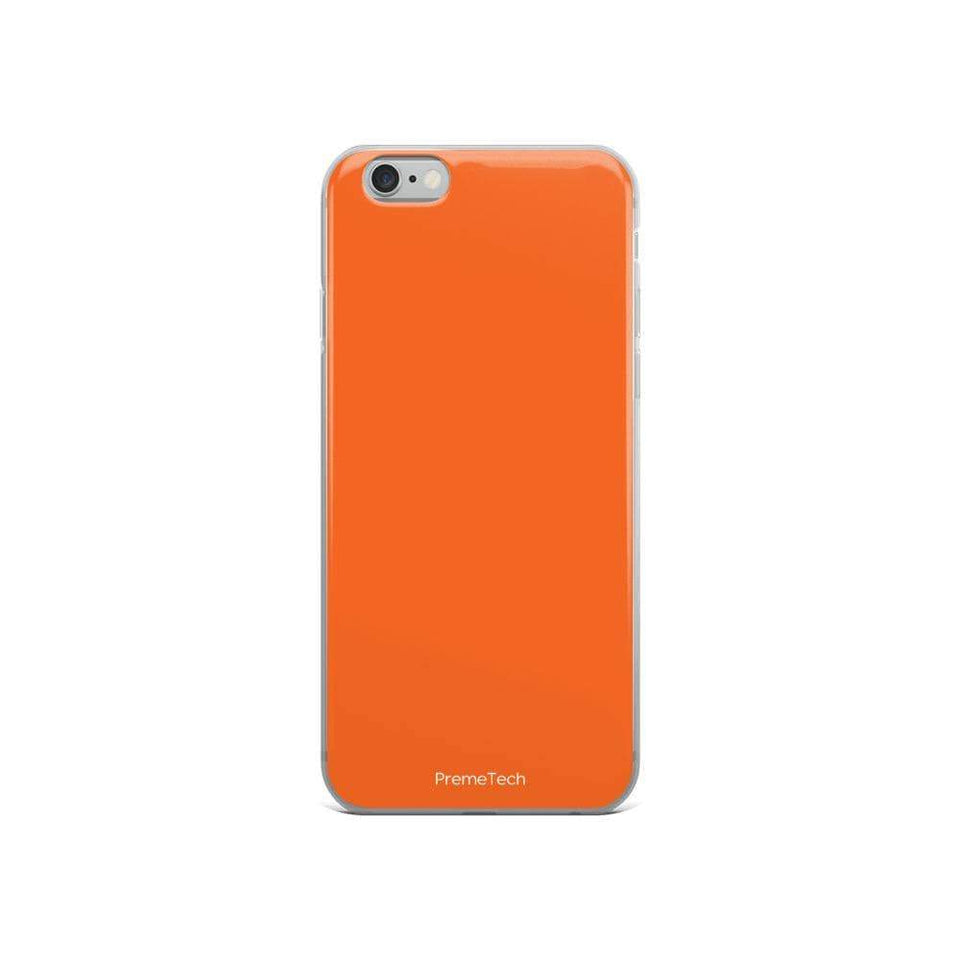 PremeTech iPhone 6/6s Orange iPhone Case