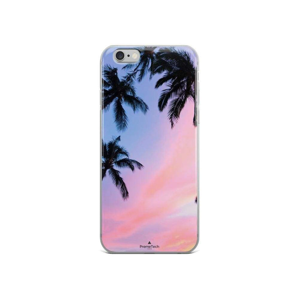 PremeTech iPhone 6/6s Sunset & Palm Trees iPhone Case