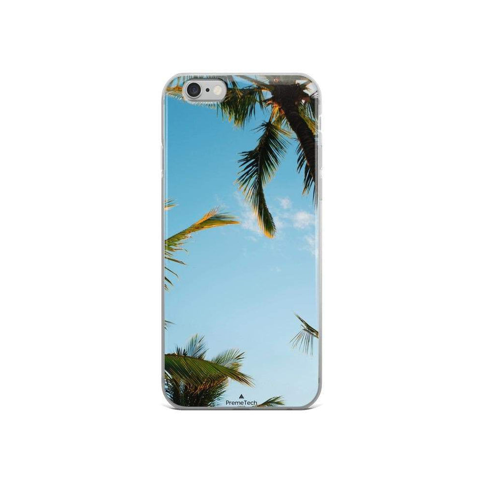 PremeTech iPhone 6/6s Sunshine and Palm Trees iPhone Case