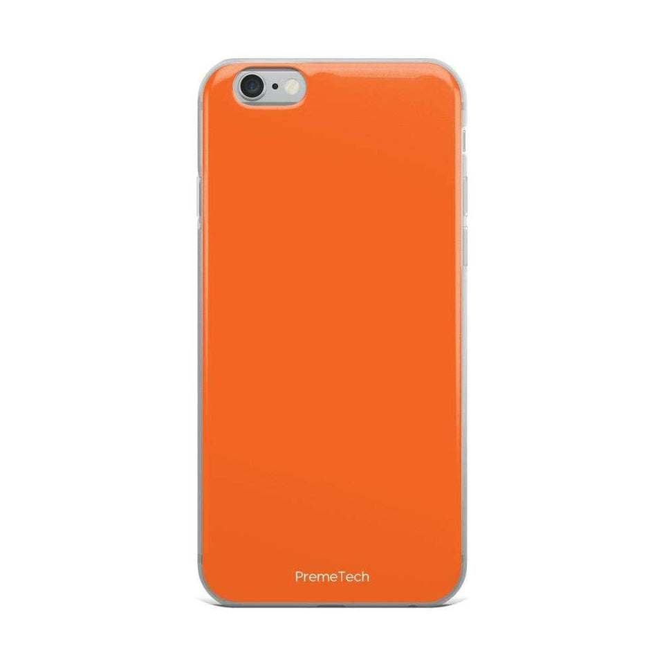 PremeTech iPhone 6 Plus/6s Plus Orange iPhone Case