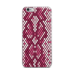 PremeTech iPhone 6 Plus/6s Plus Pink Snakeskin iPhone Case