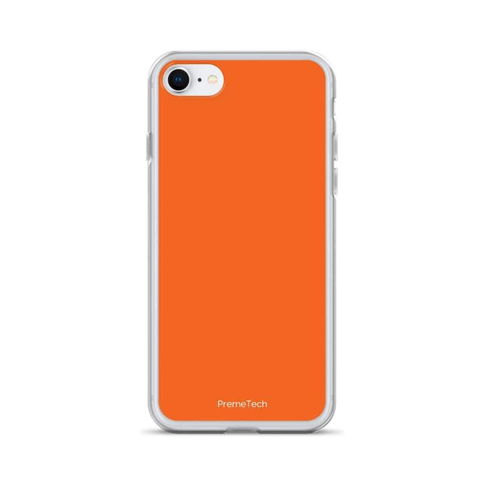 PremeTech iPhone 7/8 Orange iPhone Case