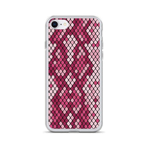 PremeTech iPhone 7/8 Pink Snakeskin iPhone Case