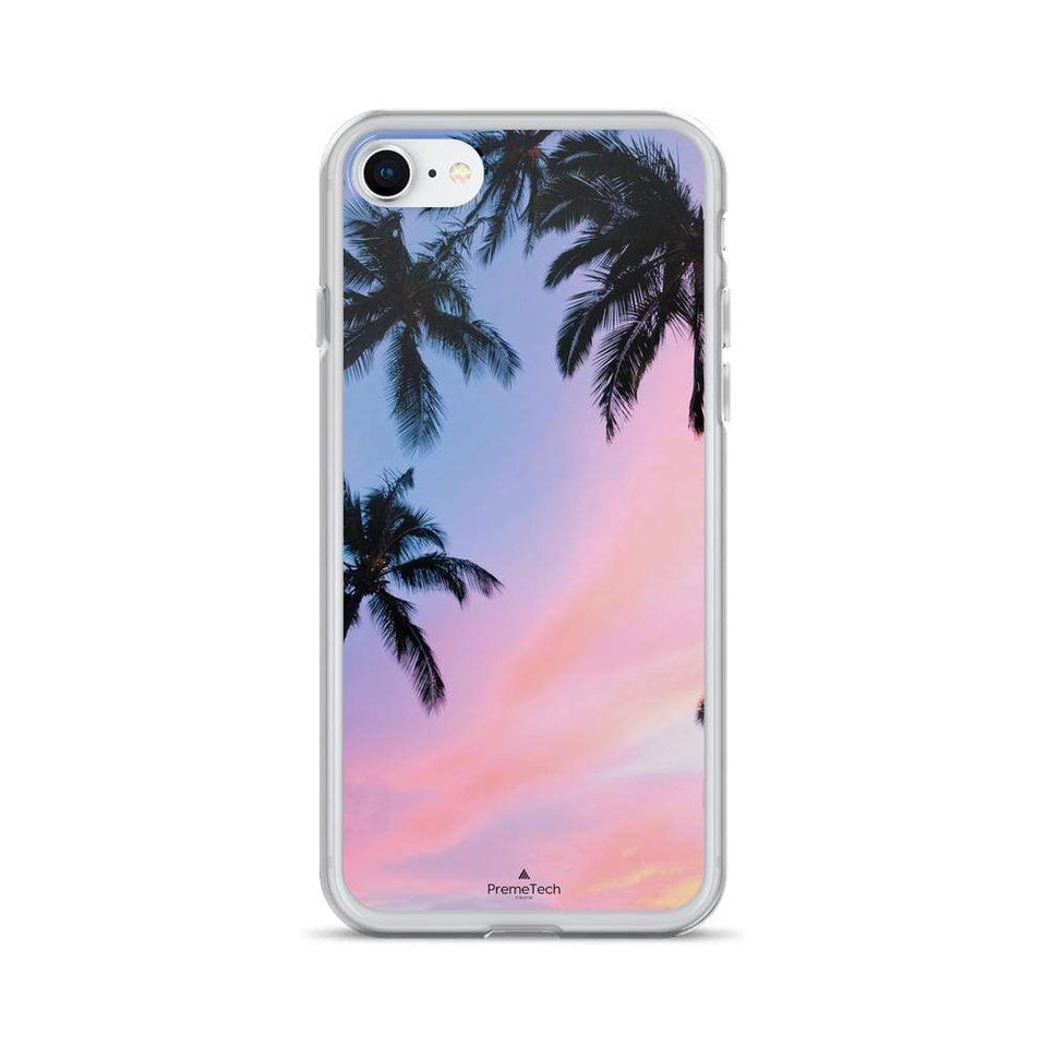 PremeTech iPhone 7/8 Sunset & Palm Trees iPhone Case