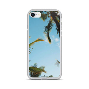 PremeTech iPhone 7/8 Sunshine and Palm Trees iPhone Case