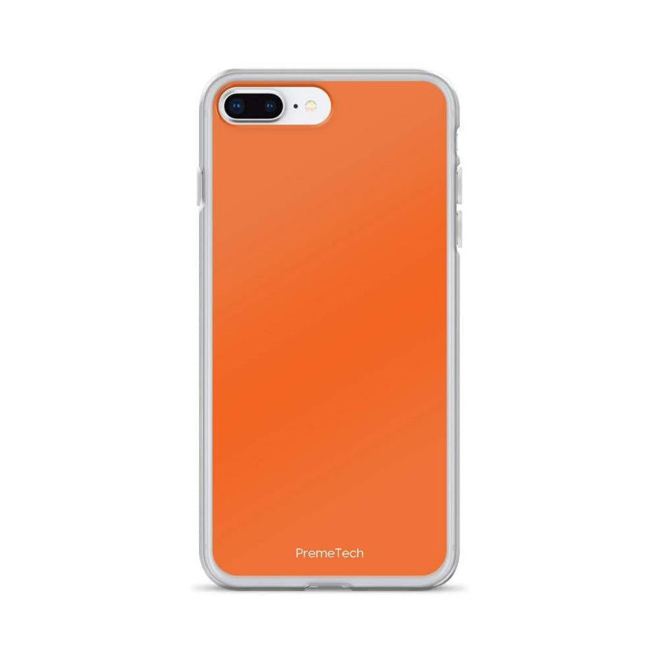 PremeTech iPhone 7 Plus/8 Plus Orange iPhone Case
