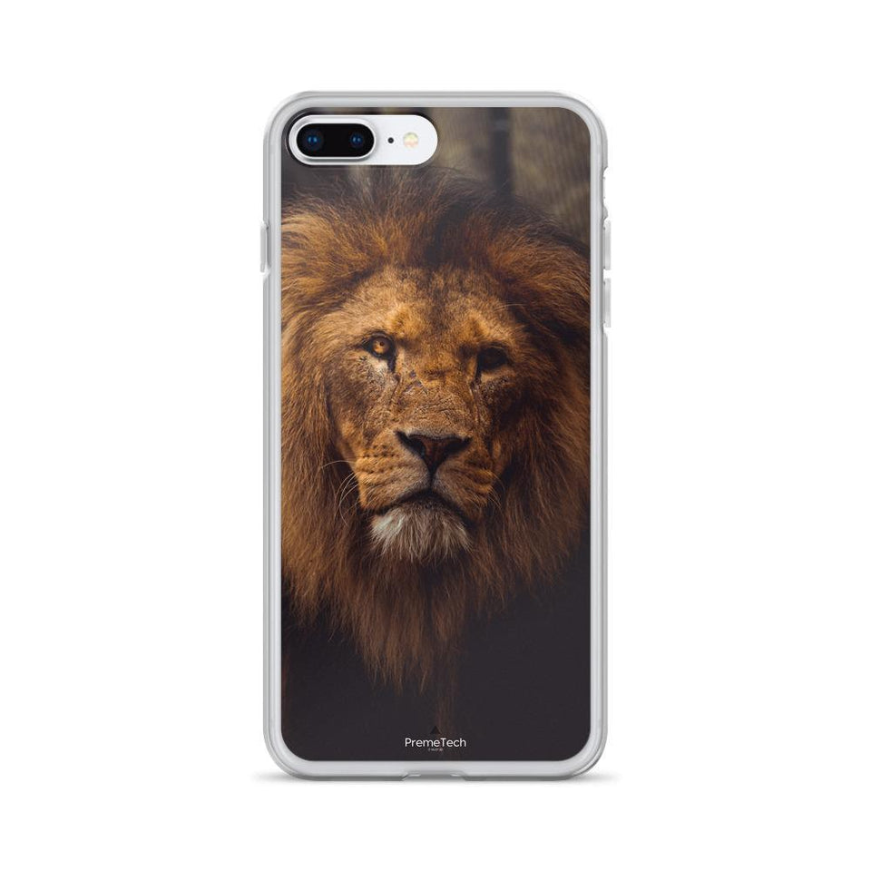 PremeTech iPhone 7 Plus/8 Plus Regal Lion iPhone Case