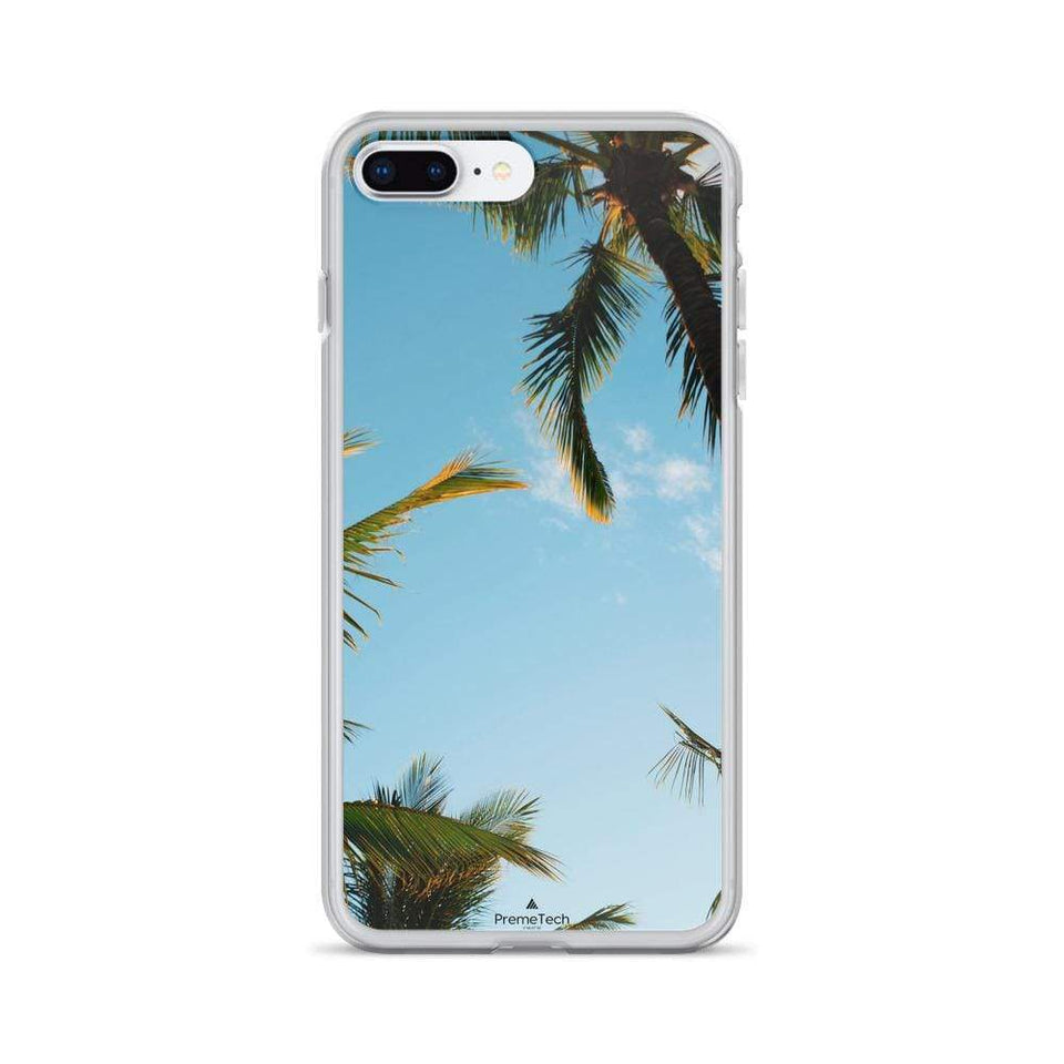PremeTech iPhone 7 Plus/8 Plus Sunshine and Palm Trees iPhone Case