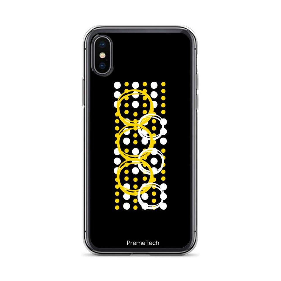 PremeTech iPhone X/XS Circle Symmetry iPhone Case