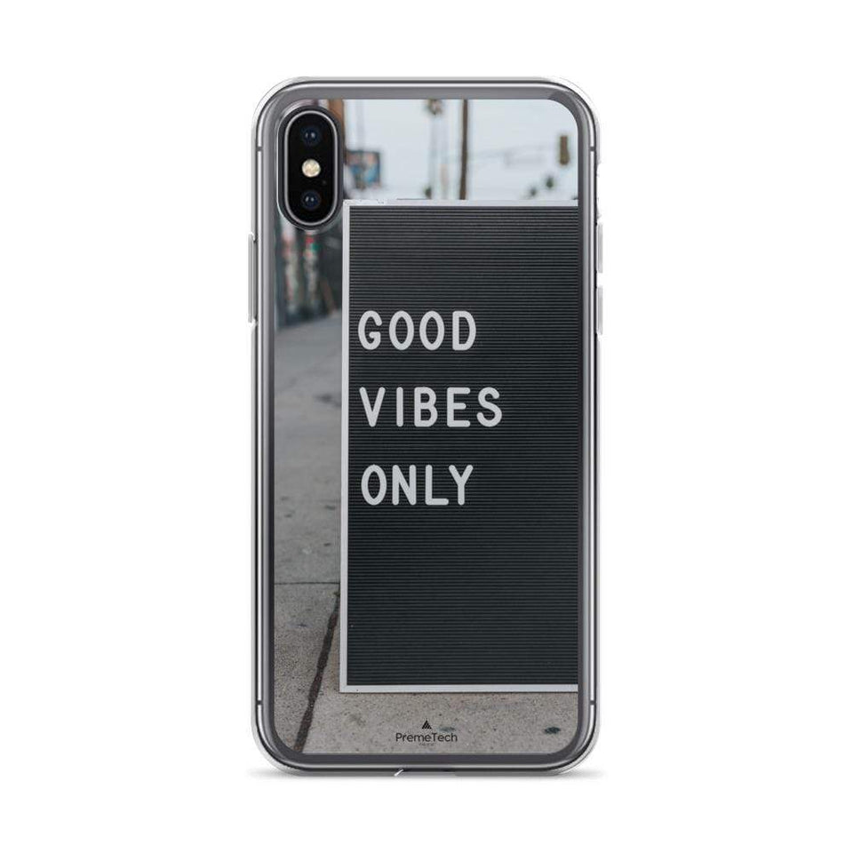 PremeTech iPhone X/XS Good Vibes iPhone Case