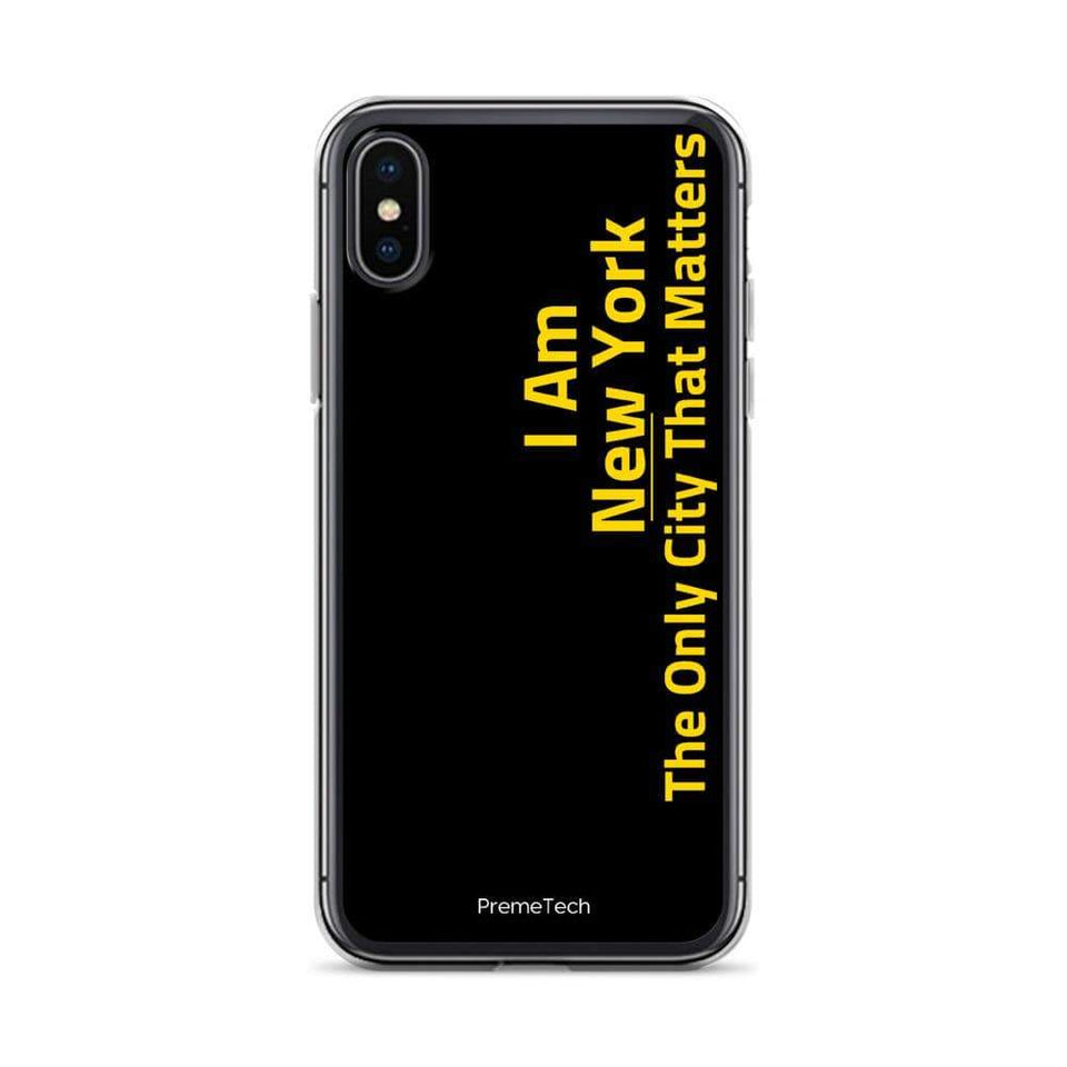 PremeTech iPhone X/XS New York iPhone Case