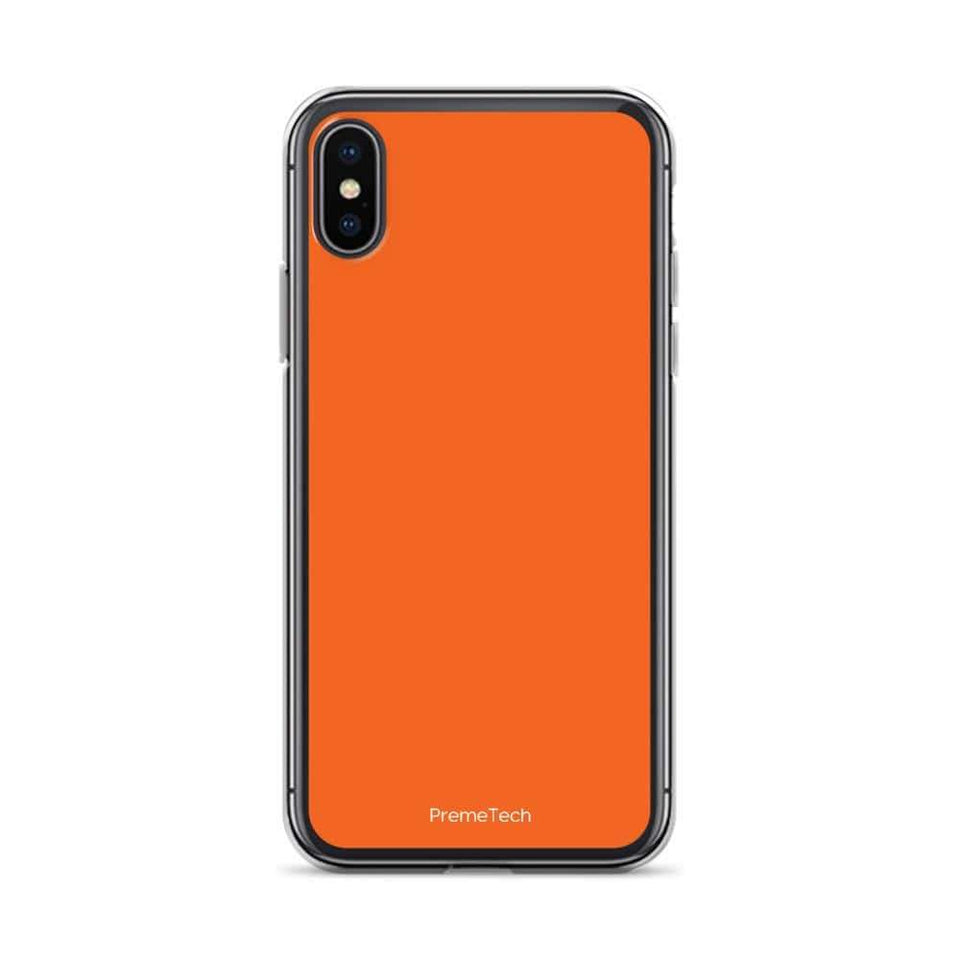 PremeTech iPhone X/XS Orange iPhone Case