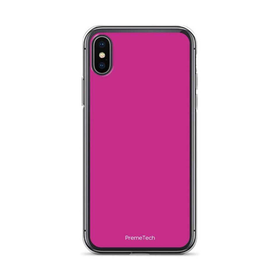 PremeTech iPhone X/XS Pink iPhone Case