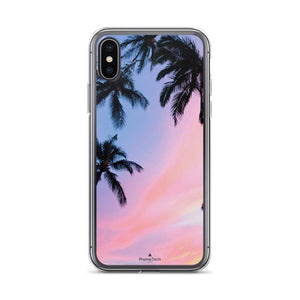 PremeTech iPhone X/XS Sunset & Palm Trees iPhone Case