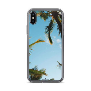 PremeTech iPhone X/XS Sunshine and Palm Trees iPhone Case