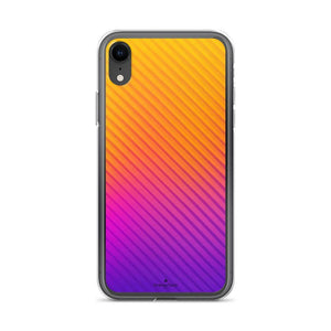 PremeTech iPhone XR Abstract Orange to Purple iPhone Case