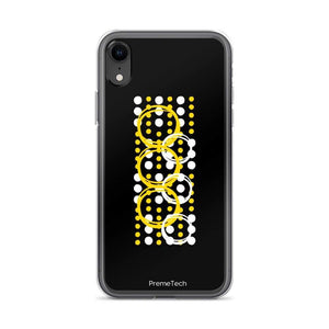 PremeTech iPhone XR Circle Symmetry iPhone Case