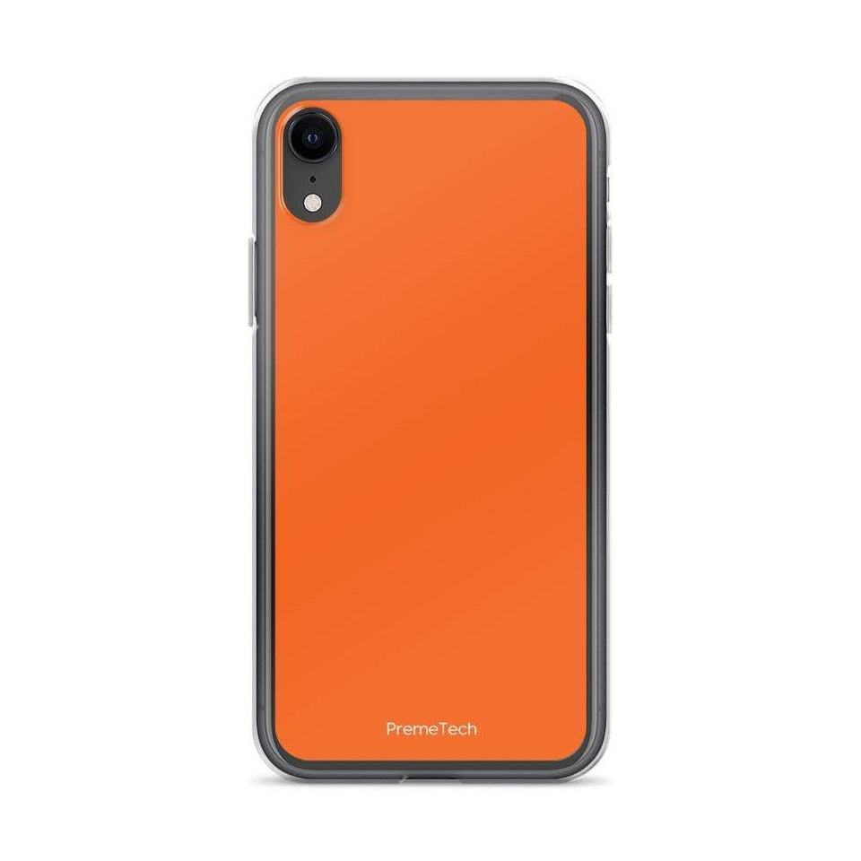 PremeTech iPhone XR Orange iPhone Case