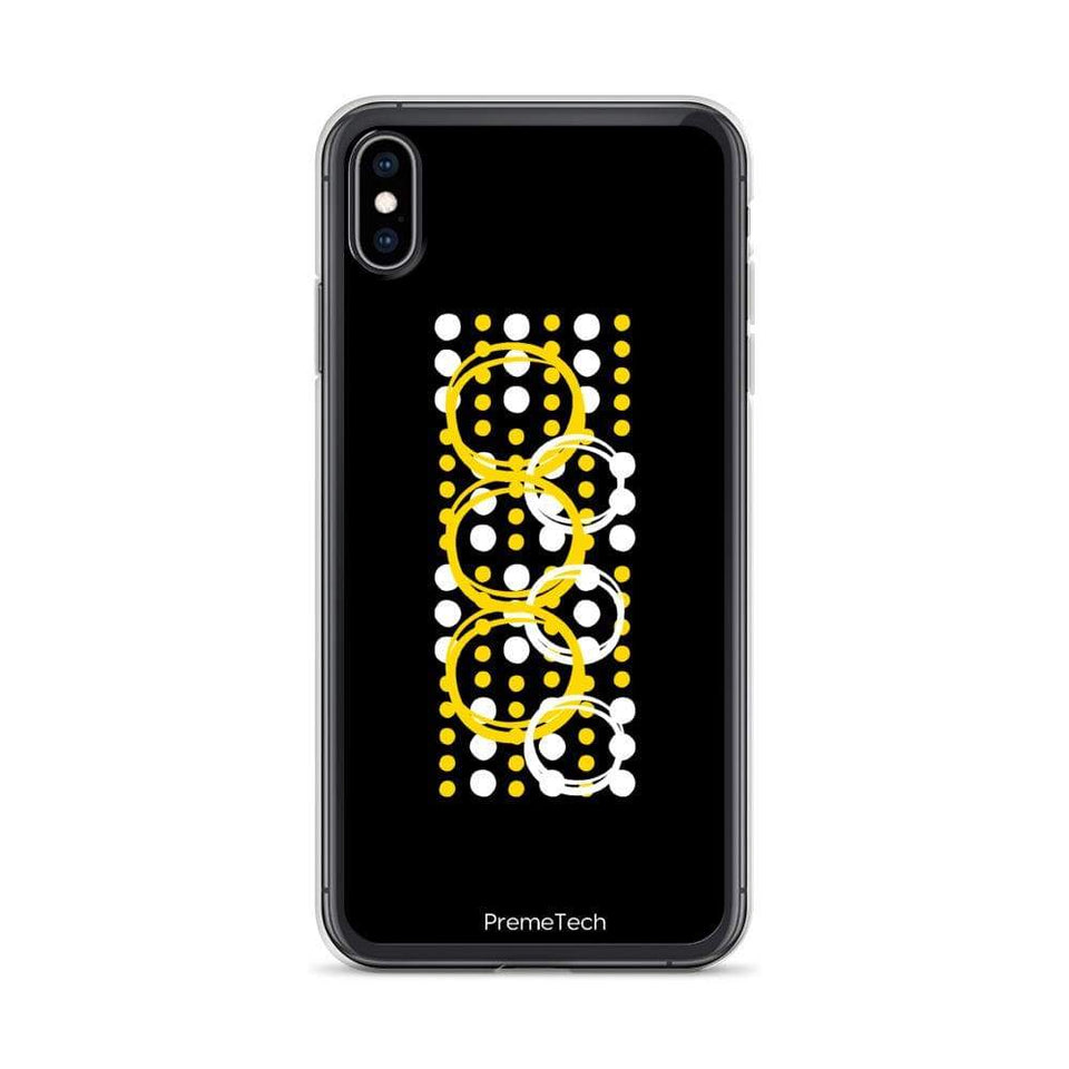 PremeTech iPhone XS Max Circle Symmetry iPhone Case