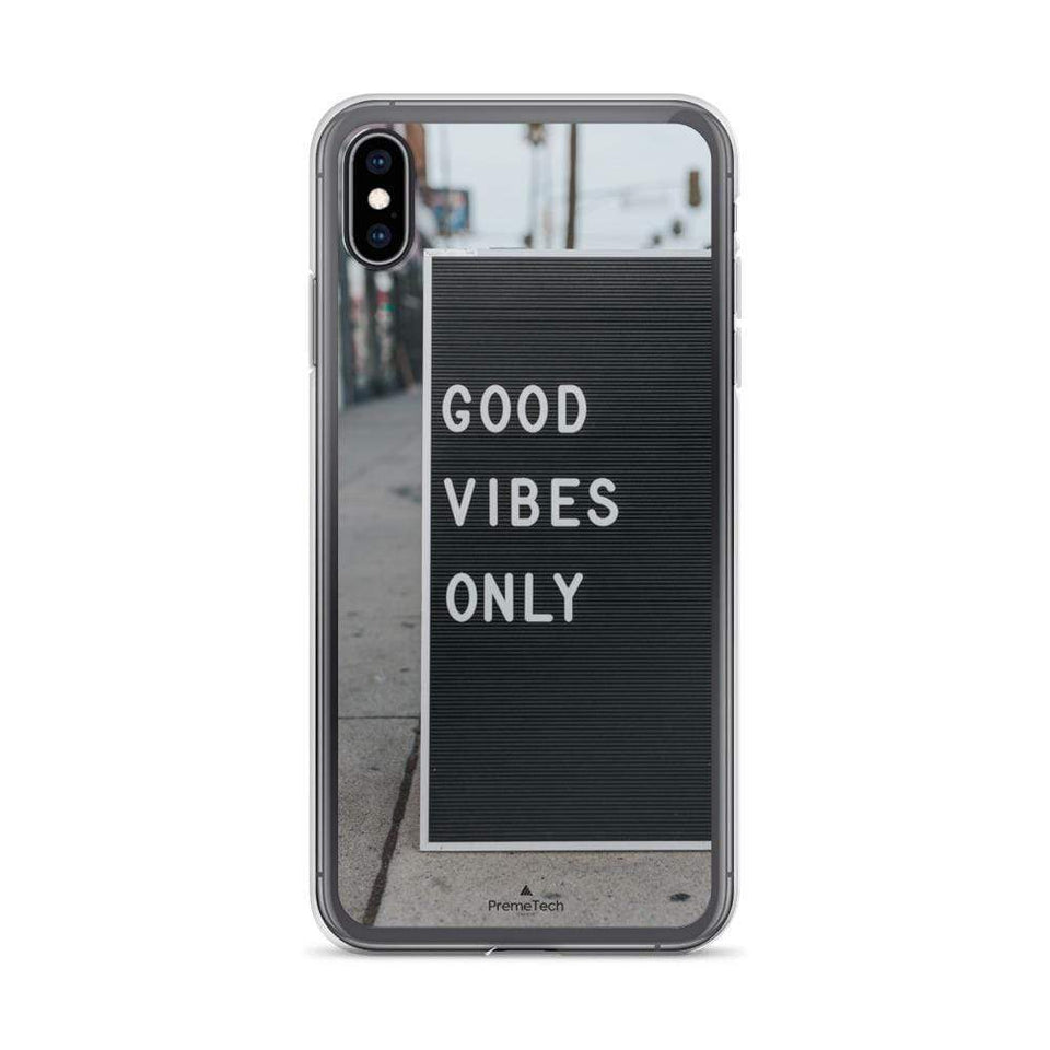 PremeTech iPhone XS Max Good Vibes iPhone Case