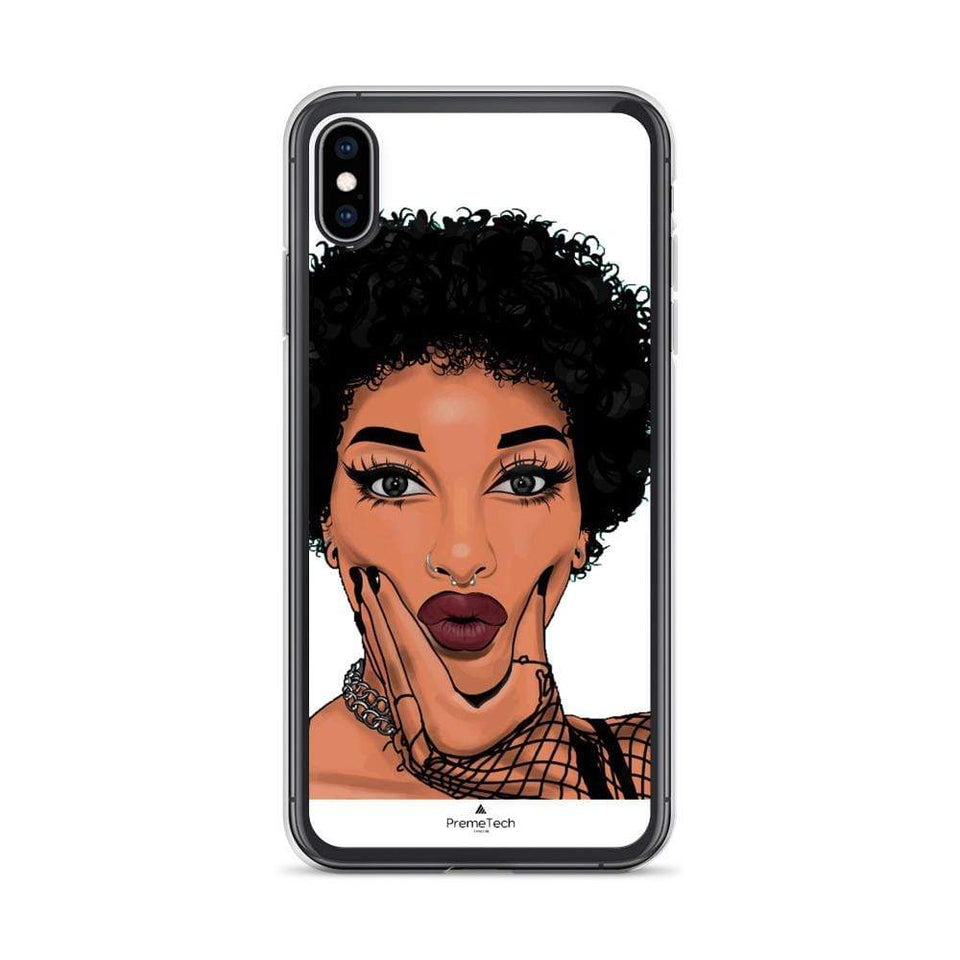 PremeTech iPhone XS Max My Life, My Hair iPhone Case