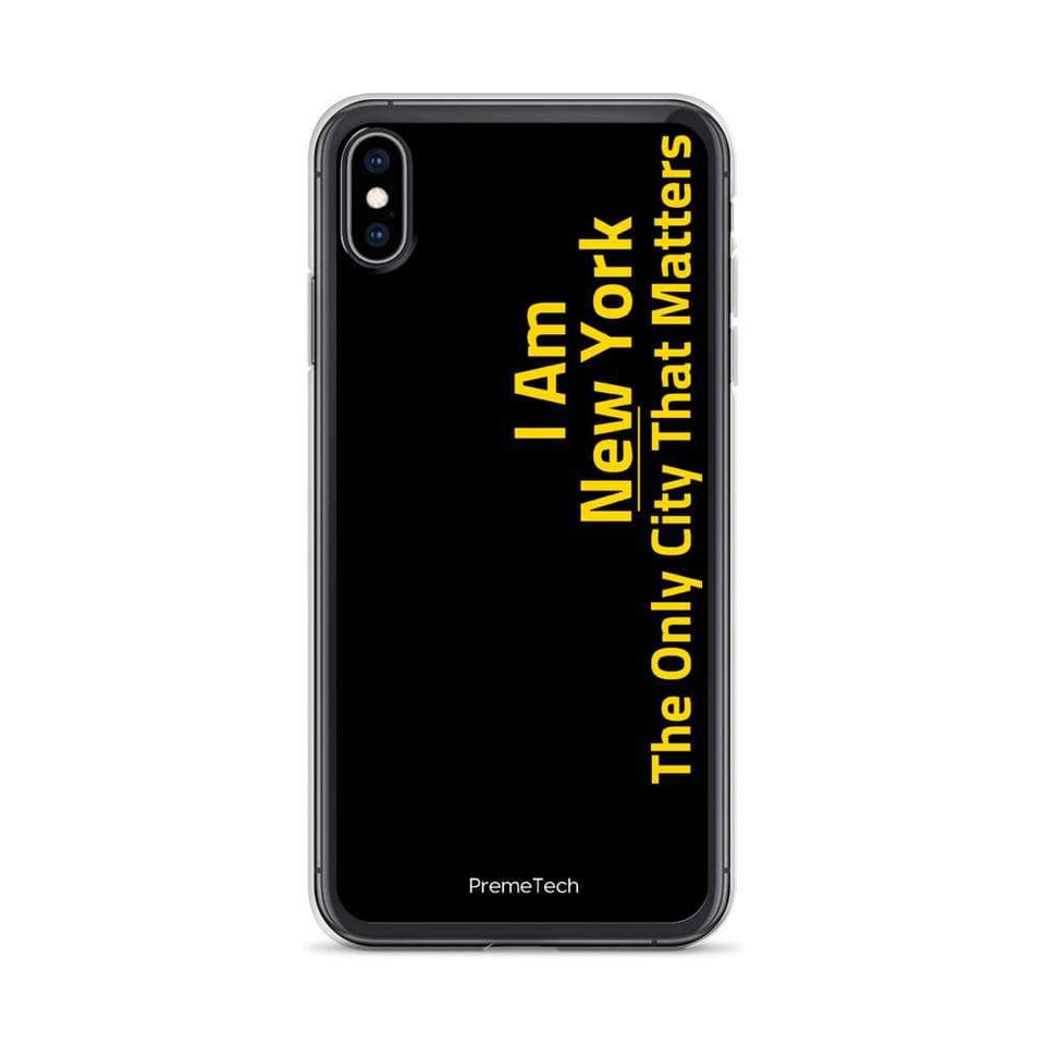 PremeTech iPhone XS Max New York iPhone Case