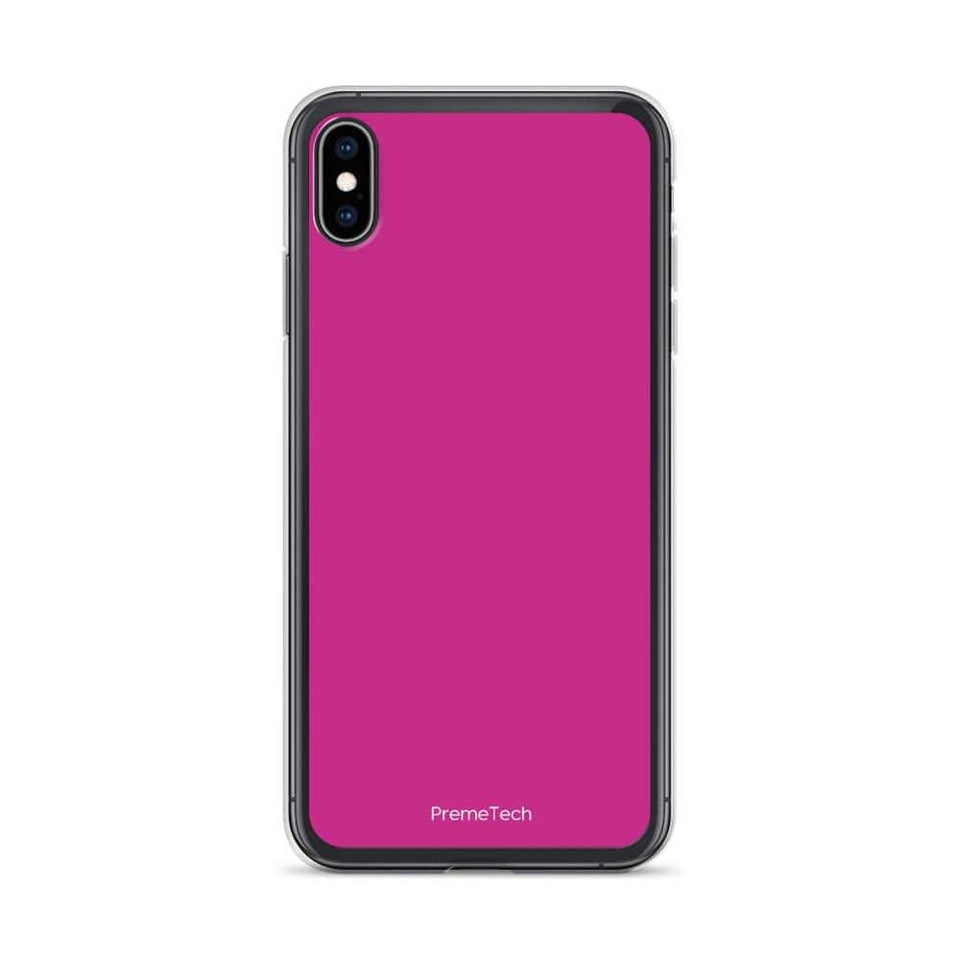 PremeTech iPhone XS Max Pink iPhone Case