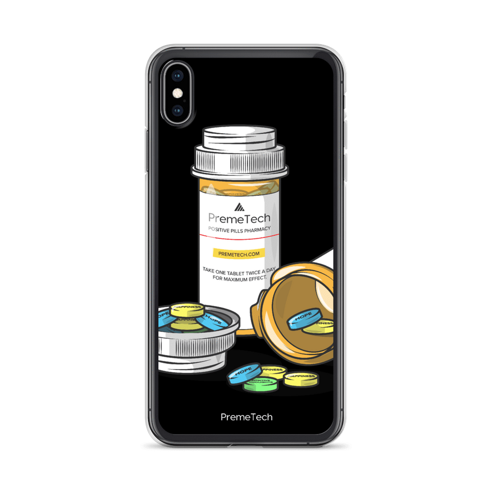PremeTech iPhone XS Max Positive Pills iPhone Case