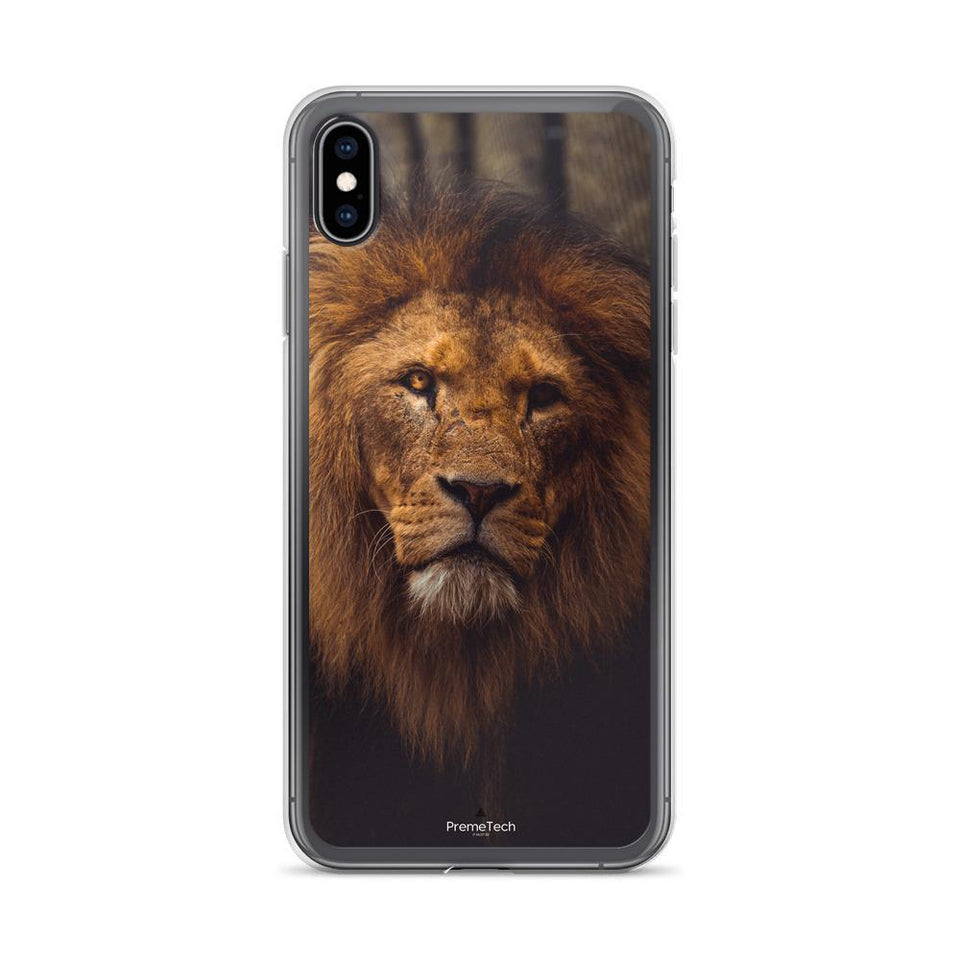 PremeTech iPhone XS Max Regal Lion iPhone Case