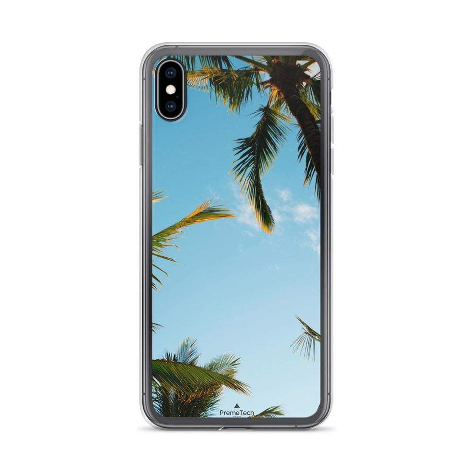 PremeTech iPhone XS Max Sunshine and Palm Trees iPhone Case