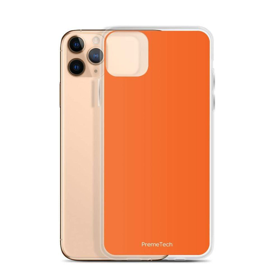 PremeTech Orange iPhone Case