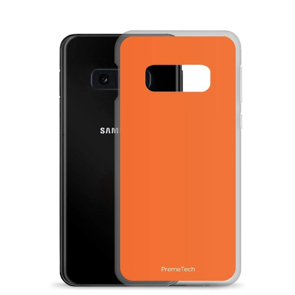 PremeTech Orange Samsung Case