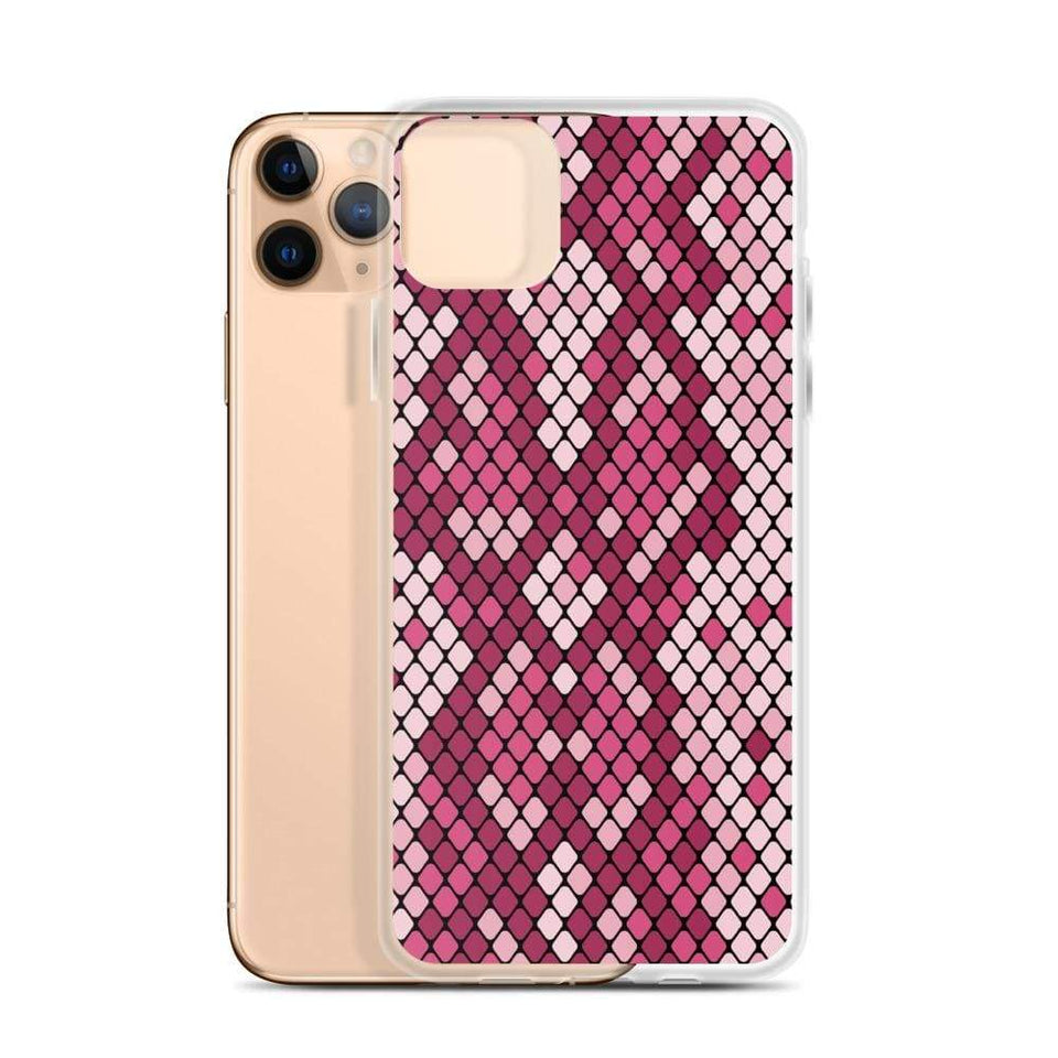 PremeTech Pink Snakeskin iPhone Case