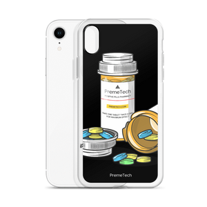 PremeTech Positive Pills iPhone Case