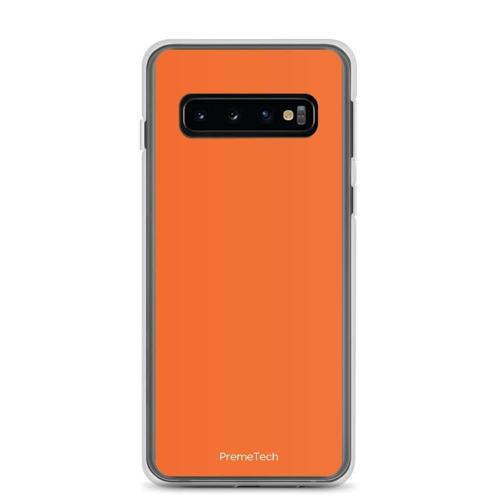 PremeTech Samsung Galaxy S10 Orange Samsung Case