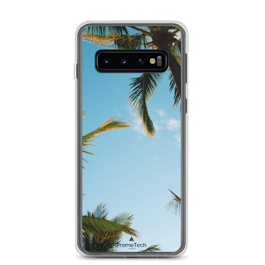 PremeTech Samsung Galaxy S10+ Sunshine and Palm Trees Samsung Case