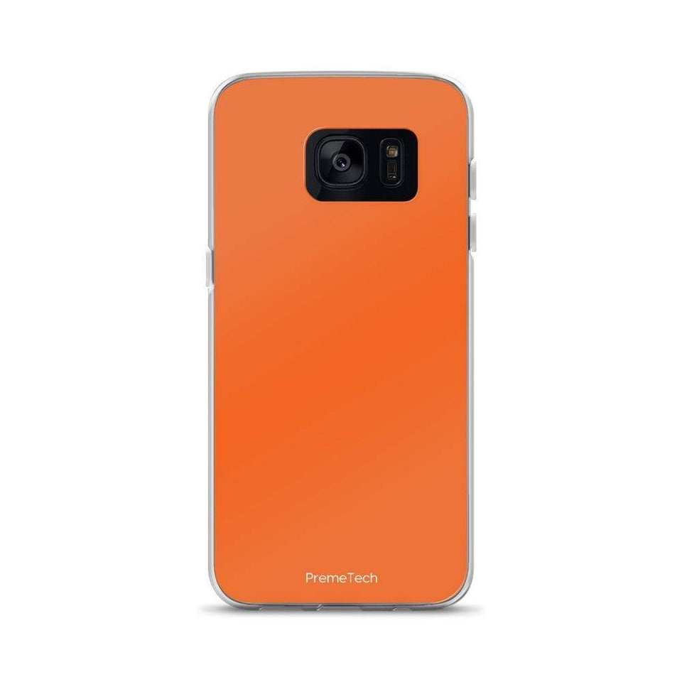 PremeTech Samsung Galaxy S7 Orange Samsung Case