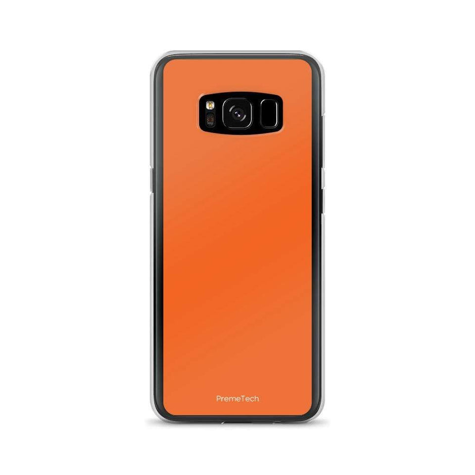 PremeTech Samsung Galaxy S8 Orange Samsung Case