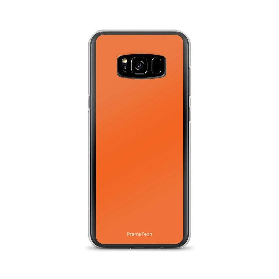 PremeTech Samsung Galaxy S8+ Orange Samsung Case