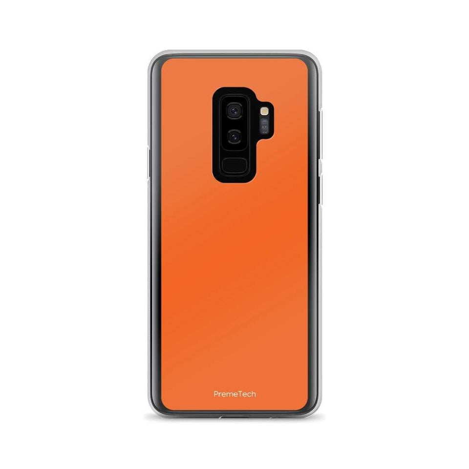 PremeTech Samsung Galaxy S9+ Orange Samsung Case