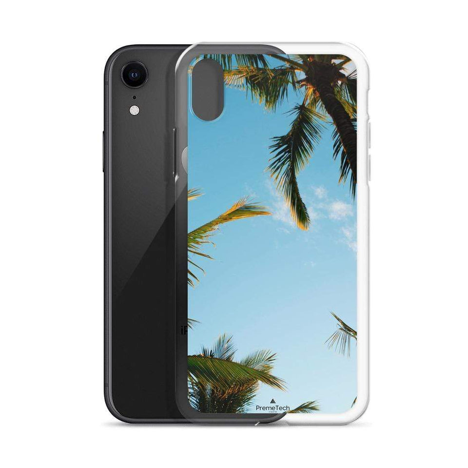 PremeTech Sunshine and Palm Trees iPhone Case