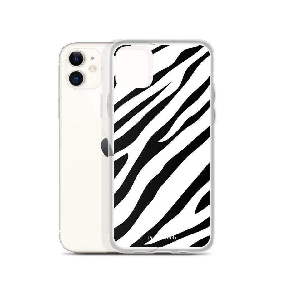PremeTech iPhone 11 Zebra Print iPhone Case